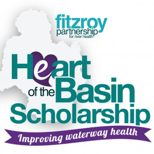 HeART of the Basin Scholarship logo