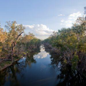 A Fitzroy Basin waterway.